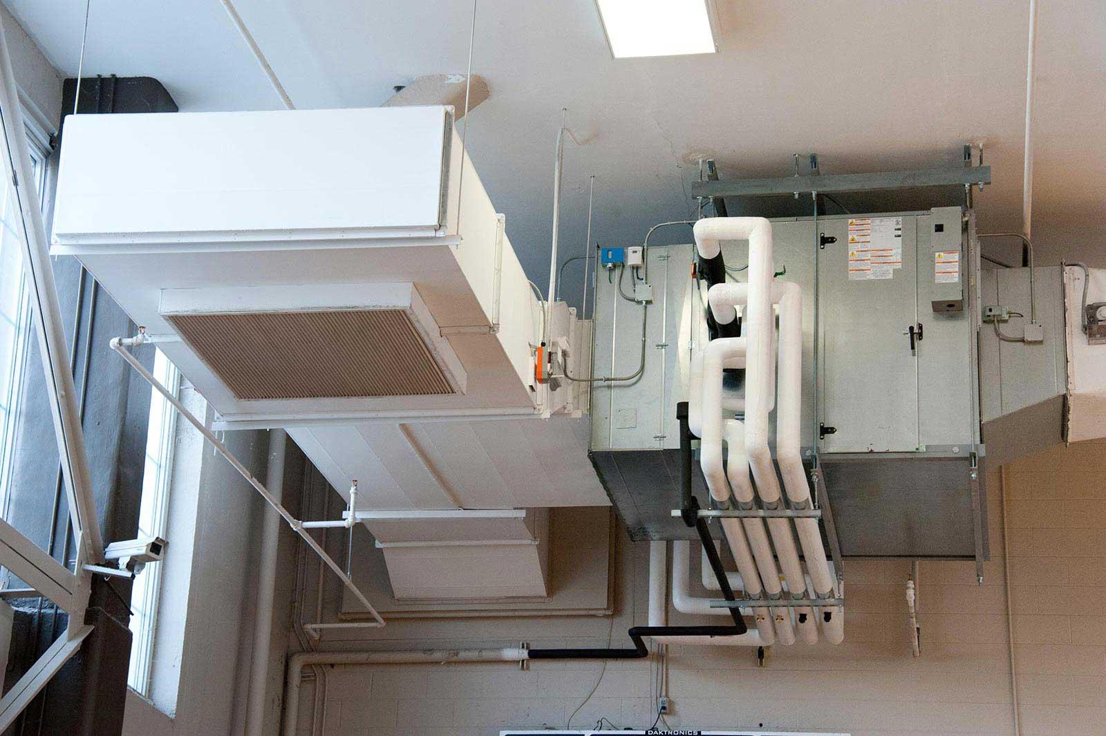 hvac systems installations maintenance attic crew